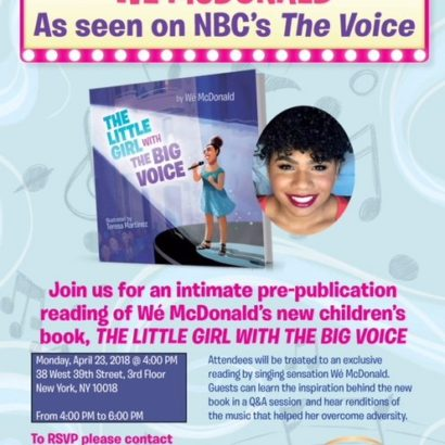 The Little Girl With The Big Voice